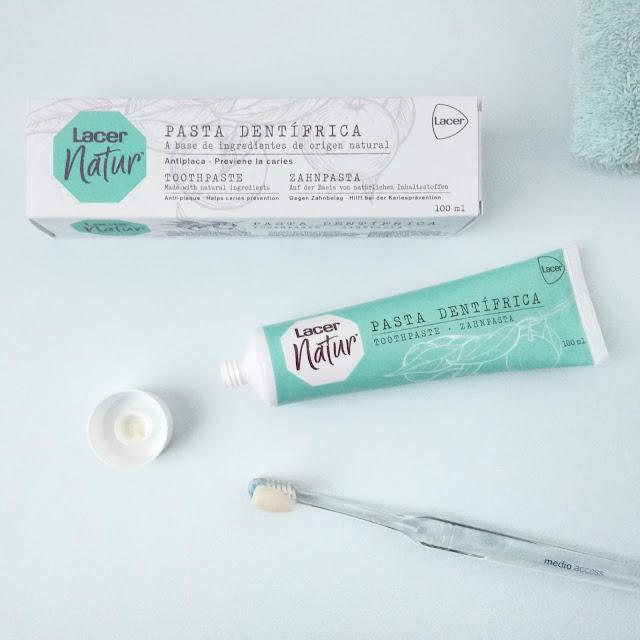 Pasta de dientes Lacer Natur