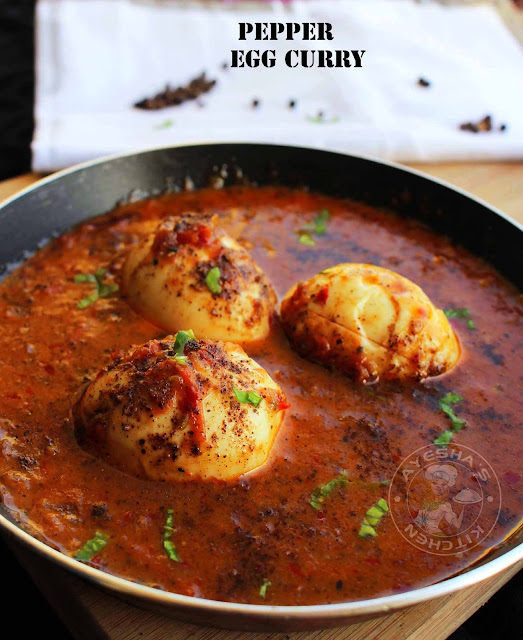 egg curry recipes egg pepper gravy pepper chicken curry yummy curry recipes veg side dish ayeshas kitchen
