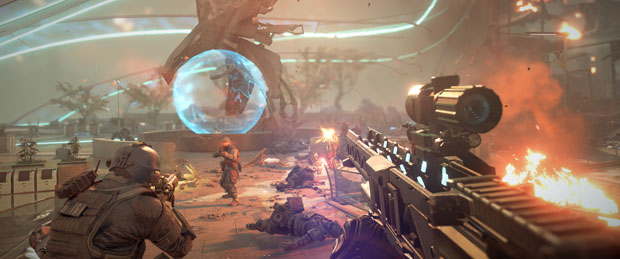 Killzone: Shadow Fall Off-Screen Footage