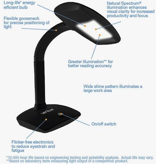 Verilux Smartlight The Lamp For Learning Toronto
