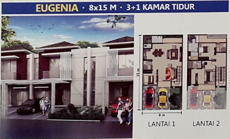 Tipe Eugenia @ PIK 2 Jakarta