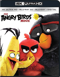 DVD & Blu-ray Release Report, The Angry Birds Movie, Ralph Tribbey