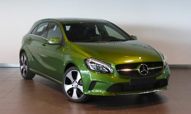 2018 Mercedes A-Class second generation compact family