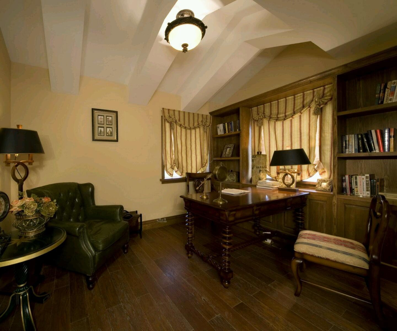 Study Room Interior Design: Home Interior Designs: Modern Homes Interior Designs