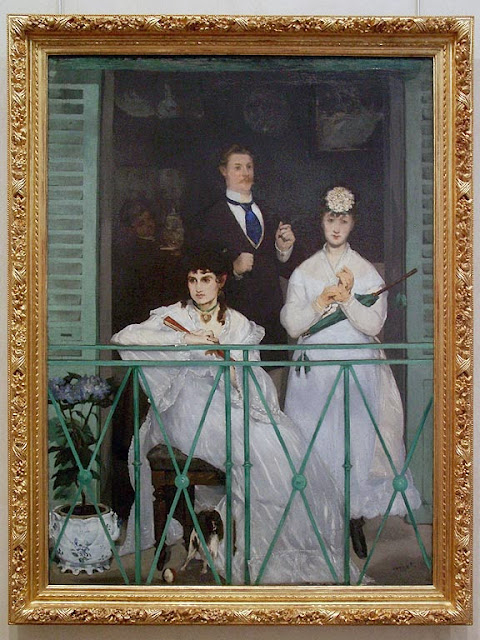 Le Balcon, The Balcony by Édouard Manet, Musée d'Orsay, Paris