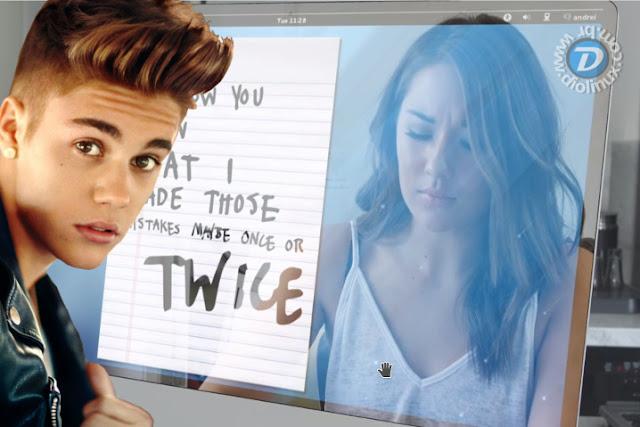 Gnome Shell aparece em clipe com Justin Bieber
