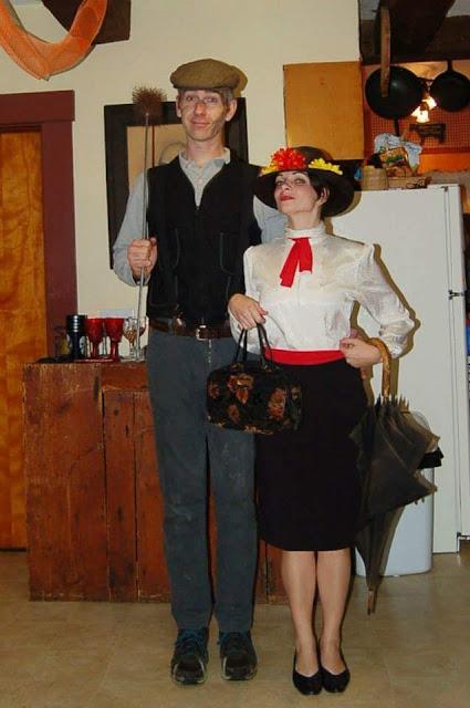 BURT & MARY POPPINS - HOLLYWOOD