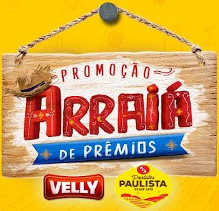 Cadastrar Promoção Velly e PPA Produtos Paulista Arraiá de Prêmios
