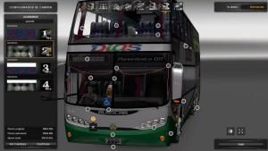 Bus Mod - Busscar Panorámico DD 6×2
