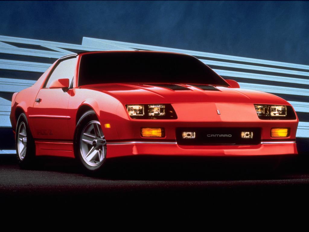 inovatif cars: 1985 Chevrolet Camaro IROC-Z