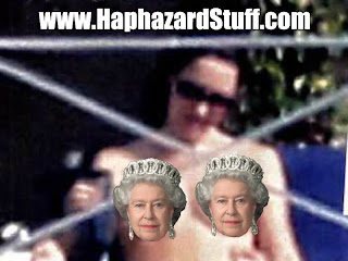 Kate Middleton caught topless