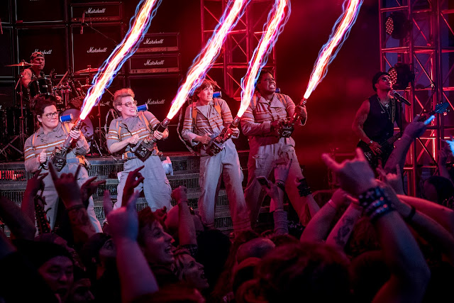 'Ghostbusters' Team Up and Pose in Latest Poster - Release Just a Month Away!