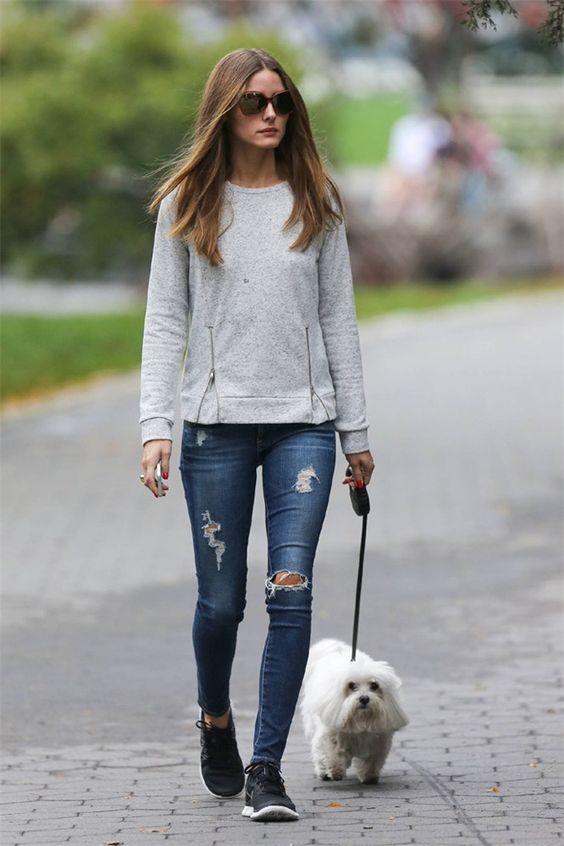 Resultado de imagen para mujeres con jeans rotos
