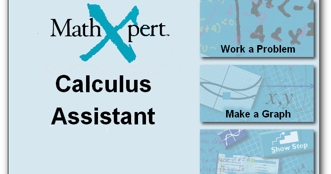 mathxpert calculus assistant