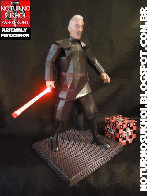 Star Wars - Count Dooku Papercraft