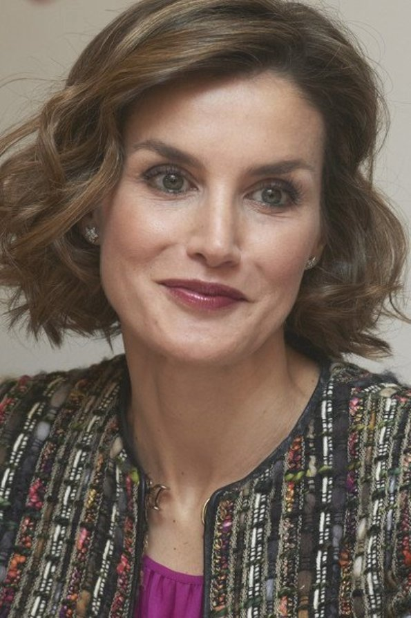Queen Letizia Inaugurated The 10th International Seminar Of Journalism