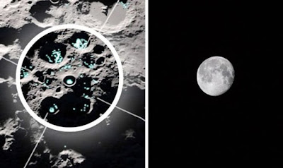 Finally astronomers find out moving water molecules on moon