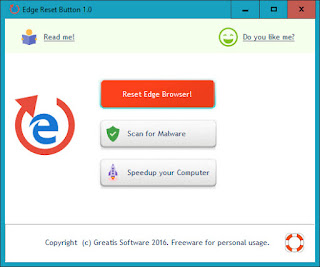 Edge Reset  : Επαναφορά του Microsoft Edge  στην προεπιλεγμένη κατάσταση