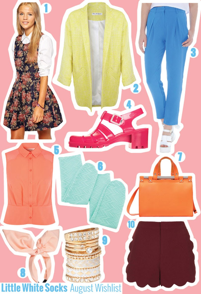fashion high street wishlist august 2014