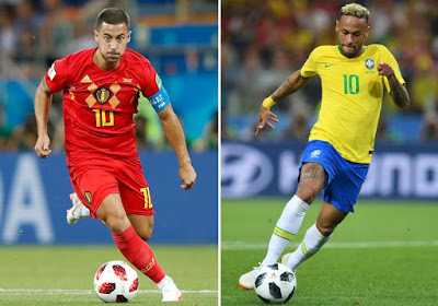Belgium Sends Brazil Out of the Tournament