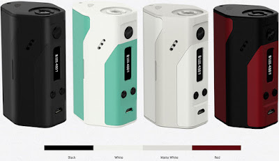 About Authentic Wismec Reuleaux RX200 200W TC VW APV Box Mod