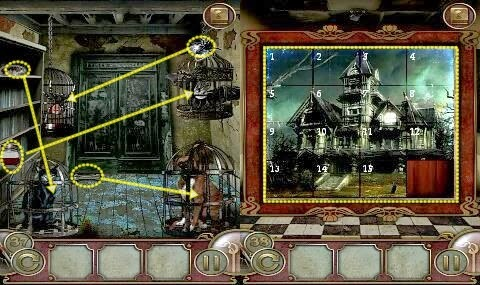 Escape the Mansion Level 36 37 38 39 40 Walkthrough