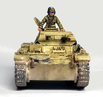 28mm DAK Panzer 2 II