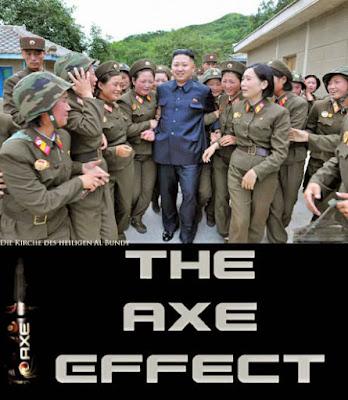 Der Axe Effekt Kim Jong un - lustiger Diktator