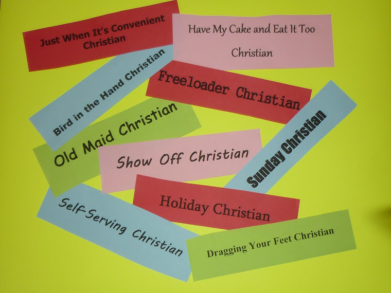 Types of Christians Blog Link: