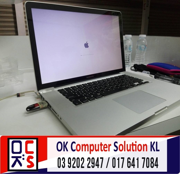 [SOLVED]FORMAT MACBOOK PRO A1286 |REPAIR MAC TAMAN CONNAUGHT 1