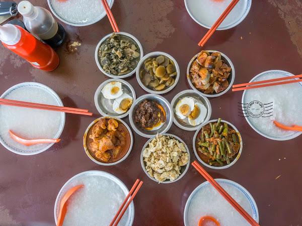 Teow Chew Porridge @ Lebuh Cecil, Georgetown, Penang