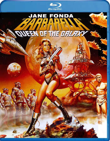 Poster Of Barbarella 1968 Dual Audio 300MB BRRip 480p Free Download Watch Online