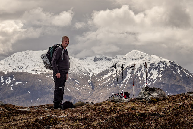 Photo of Phil on Meall Bhalach