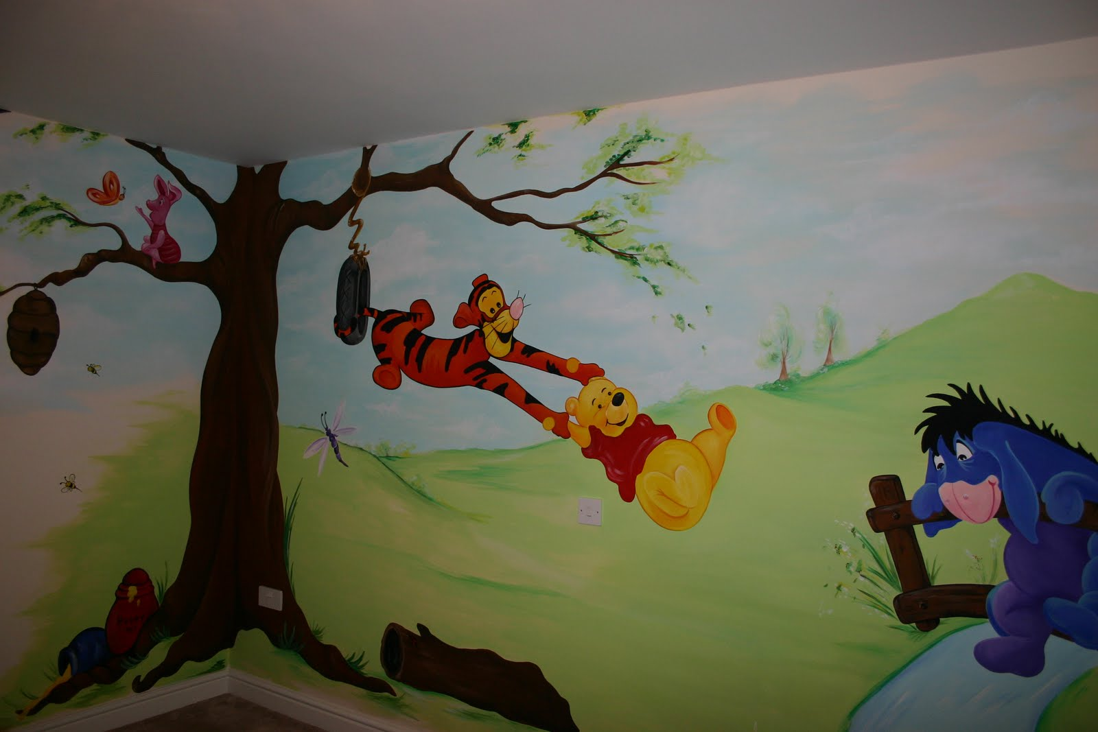Mural Designs Quot The Muralist Quot Winnie The Pooh Wall Mural