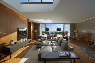 Source: Mandarin Oriental Bodrum. Living room interior.