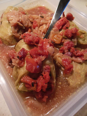Sweet and Savory Cabbage Rolls, easy and delicious using your Electric Pressure Cooker.
