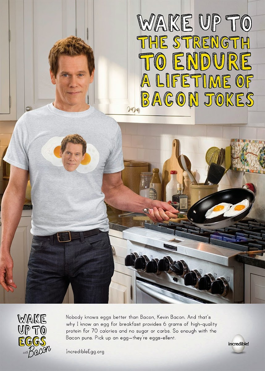 What Goes Better With Eggs Than Bacon...Kevin Bacon