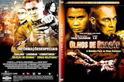 Filme Olhos de Dragão (Dragon Eyes) DVD Capa