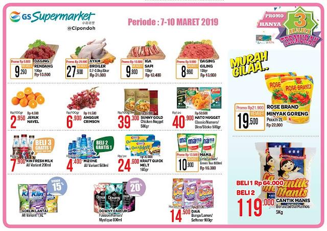 #GSSupermarket - #Promo #Katalog JSM Periode 08 - 10 Maret 2019