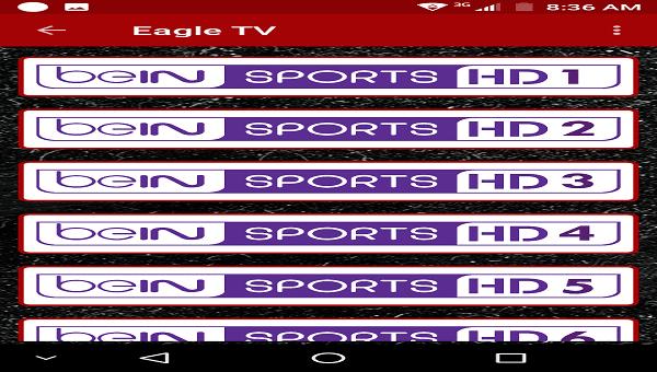 تطبيق رهيب لمشاهدة قنوات الرياضة ومباريات المشفرة مباشرة مجانا يدعم النت الضعيف 2019