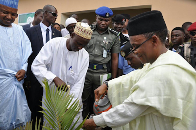 Kaduna State governor Nasir Ahmad El-Rufai flags off Keep Kaduna Green Project, plants first tree (see photos)