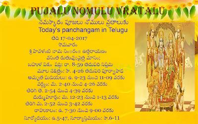 Today's Panchagam in Telugu, Daridraya dahana shiva stotram Telugu, Shiva Nirvanashthakam in Telugu, Shiva Sahasranamavali in Telugu, Sri Shiva Ashtothram in Telugu,