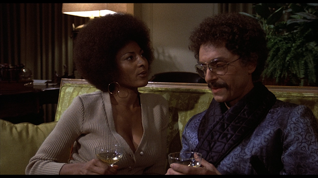 Coffy tries to persuade the bad guy to do something good