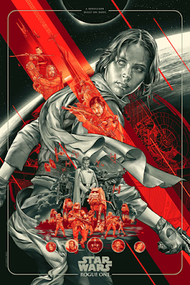 Star Wars: Rogue One Screen Print by Martin Ansin x Mondo