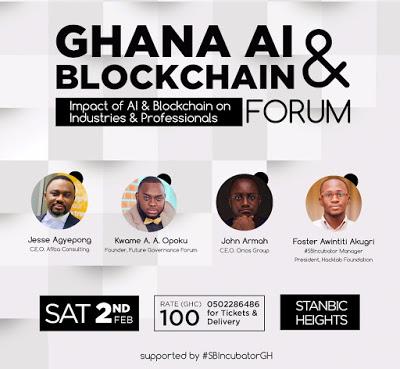 Ghana To Host AI & BlockChain Forum