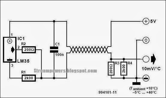 Digital Temp Sensor 3 Wire Wiring Diagram, Digital, Free