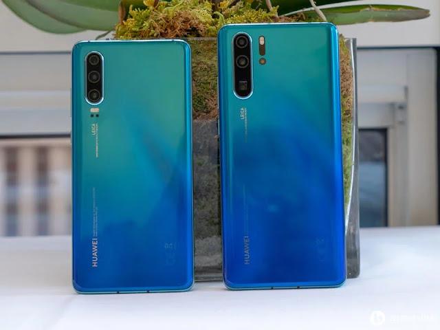 Kamera Belakang Huawei P30 dan P30 Pro