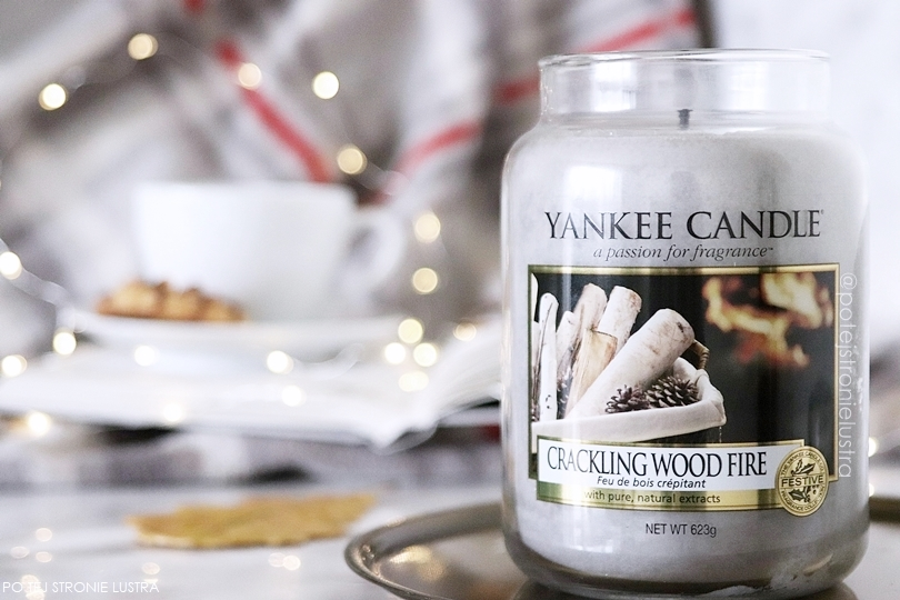 crackling wood fire yankee candle