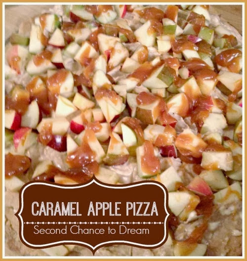 Caramel Apple Pizza from Second Chance to Dream