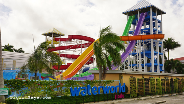 WaterWorld Iloilo - Philippine water park - family trip
